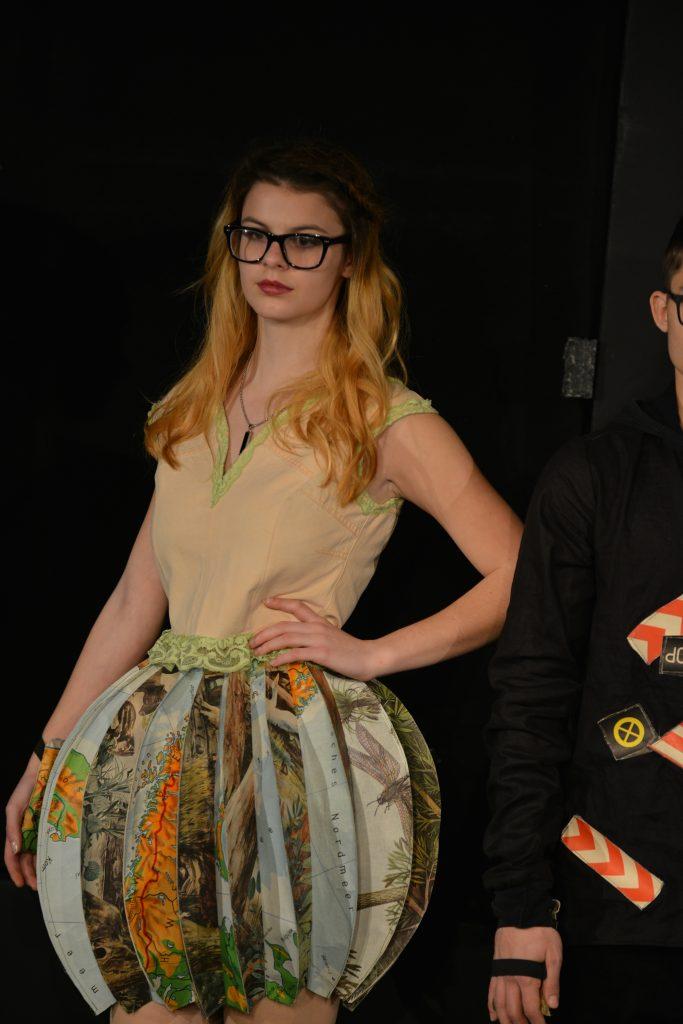 Modenschau auf der berlin fashion week jan 2016 schule for Schule fur mode und design